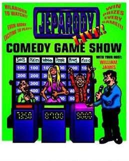 William James Comedy Game Shows