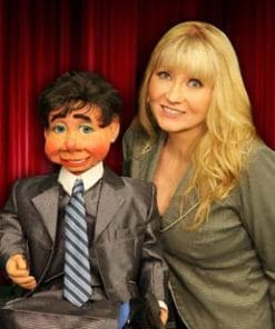 Norma McKnight ventriloquist comedian