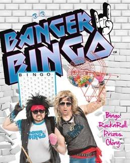 Banger Bingo Rock n Roll Comedy Game Show