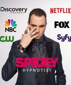 Spidey Hypnotist is a hypnotist from Montreal Quebec