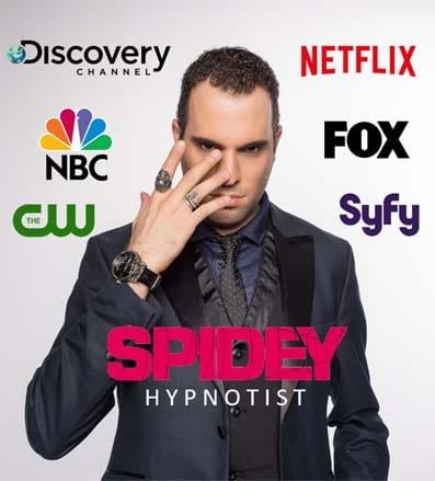 Spidey Hypnotist is a hypnotist from Montreal Quebec