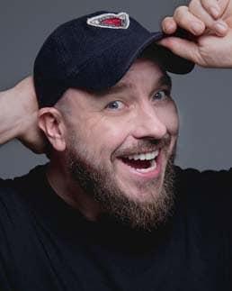 Calgary Comedian Pete Zedlacher